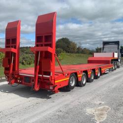 OZGUL 4 AXLE LOW LOADER